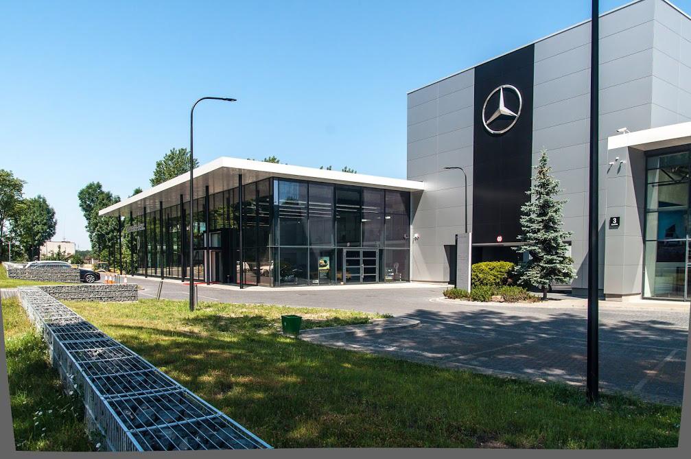 Salon Mercedes, Zawiła, Kraków